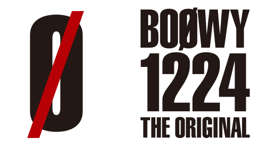 BOOWY 1224 -THE ORIGINAL